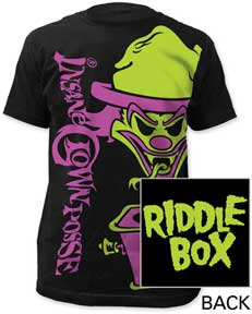Crown Riddle Box Tシャツ 黒