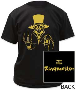 Crown Ring Master Tシャツ 黒