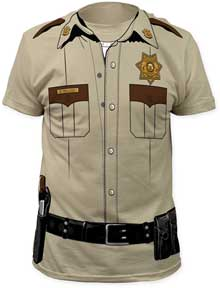 USA Sheriff Tシャツ 黒